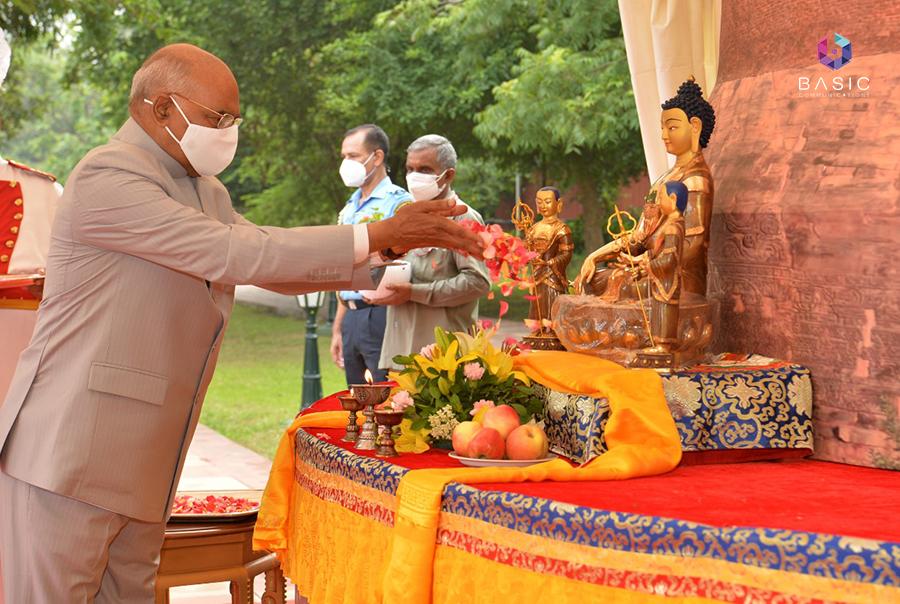 Ashadha Purnima Dhamma Chakra Parvattana Event in Rashtrapati Bhavan
