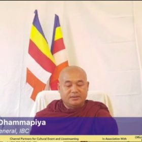 ven dr. dhammapiya secretary General, IBC