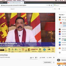 mahinda rajapaksa prime minister of sri lanka